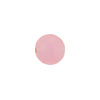 Peach Bellini Pink Caramella Round 10mm, Venetian Glass Bead