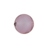 Lavender Purple Caramella Round 14mm, Murano Glass Bead