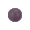 Grape Purple Caramella Round 16mm, Venetian Glass Bead
