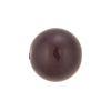 Purple Iris Caramella Round 16mm, Venetian Glass Bead