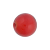 Poppy Red Caramella Round 16mm, Venetian Glass Bead