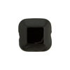 Venetian Bead Square Cut 16mm Black