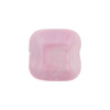 Venetian Bead Square Cut 16mm Opaque Pink Rose