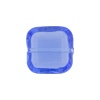 Venetian Bead Square Cut 16mm Clear