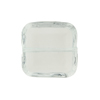 Venetian Bead Square Cut 19mm Transparent Clear