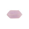 Venetian Bead Bicone Cut 18x10mm Opaque Pink