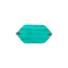 Venetian Bead Bicone Cut 18x10mm Transparent Sea Green