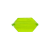 Venetian Bead Bicone Cut 18x10mm Peridot Green