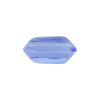 Venetian Bead Bicone Cut 18x10mm Bluino, Blue