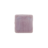 Venetian Glass Bead Square Sleek 13mm Opaque Viola