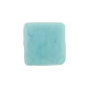 Venetian Glass Bead Square Sleek 16mm Turquoise