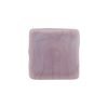 Venetian Glass Bead Square Sleek 16mm Opaque Viola