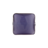 Purple Velvet Caramella Square Sleek 16mm, Venetian Glass Bead