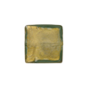 Olivine 24kt Gold Square 15mm