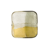 4 Colors Gold and Silver, Steel 18mm, Vela Square, Murano Glass Bead