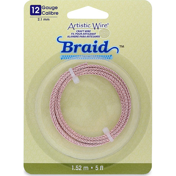 Beadalon Artistic Craft Flat Wire 3mm Gold Color