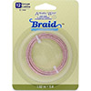 Artistic Wire, 12 Gauge, Braid, Round, Tarnish Resistant Rose Gold Color 5ft