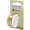 Beadalon Artistic Wire 20 Gauge, Tarnish Resistant Brass 6 Yards