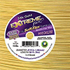 EXTREME Flex Wire, .019 Dia. 50ft, 19 Strand Gold Plated