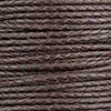 Red Brown Braided Bolo Leather Cord, 3mm Diameter, Per Foot