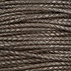 Dark Brown Braided Bolo Leather Cord, 4mm Diameter, Per Foot