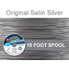Soft Flex Original Satin Silver Wire .019 Dia, 49 Strand 10 Feet