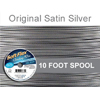 Soft Flex Original Satin Silver Wire .024Dia, 49 Strand 10 Feet