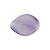 Purple Grape Colors Caramella Twist 20x14mm, Venetian Glass Bead