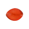 Poppy Red Caramella Twist 20x14mm, Venetian Glass Bead