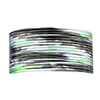 Beadalon 20 Gauge Silver, Black and Green Artistic Wire, 4 Yards