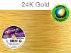 EXTREME Flex Wire .024 Dia. 500 Ft. 19 Strand 24k Gold