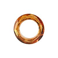 Swarovski 4139 Cosmic Ring, 14mm, Crystal Copper