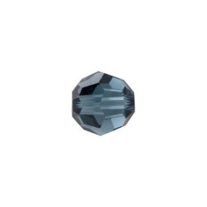 Swarovski 5000 4mm Faceted Round, Montana