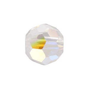 Swarovski 5000 6mm Faceted Round, Crystal AB