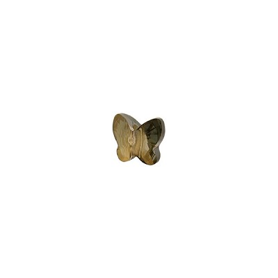 Swarovski 5754 Butterfly Bead, 8mm, Crystal Bronze Shade
