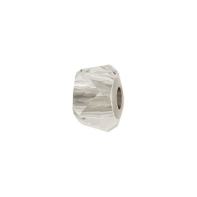 Swarovski 5920 BeCharmed Helix, Crystal, 4.5mm Hole