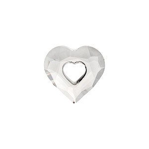Swarovski 6262 Miss U Heart, 17mm, Crystal