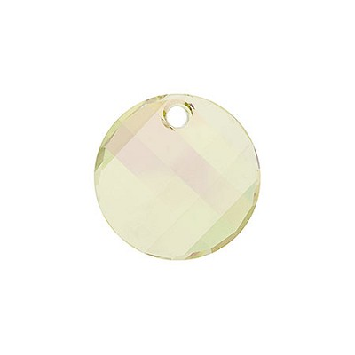 Swarovski 6621 Twist Pendant, 18mm, Crystal Luminous Green