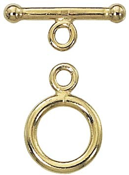 14/20 Gold Filled Toggle Clasp, 12mm