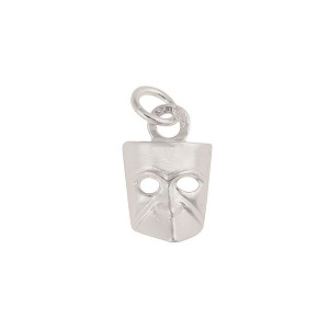 Bauta Sterling Silver Mask Charm