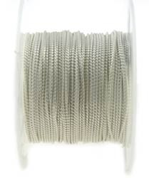 Italian Sterling Silver Beading Chain, .80mm, Per Foot