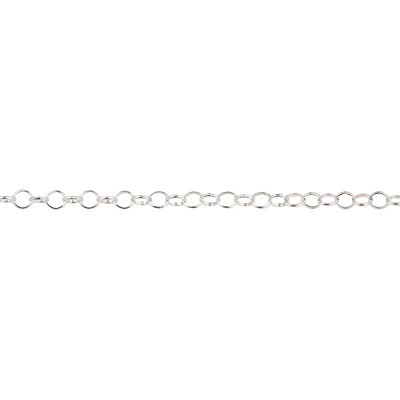 2.4mm Sterling Silver Rolo Chain