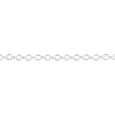1.8mm .925 Sterling Silver Double Cable Chain