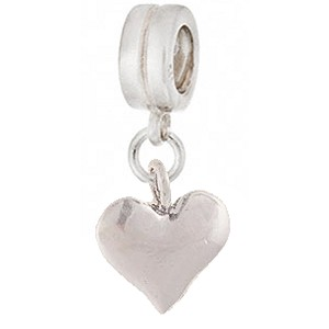 Heart of Silver Dangle