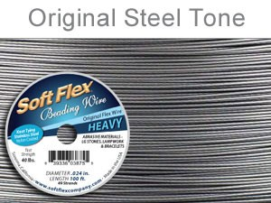 Soft Flex Wire .024 Dia. 100 Ft. 49 Strand Original