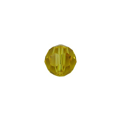 Swarovski 5000 8mm Faceted Round,Light Topaz