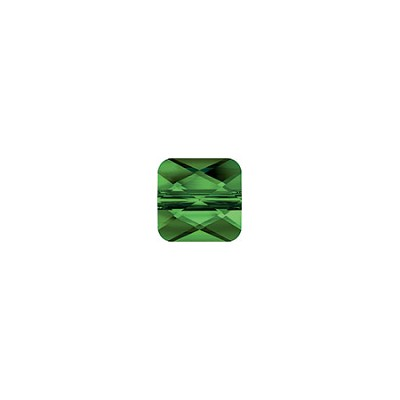 Swarovski 5053 Square Mini Bead, 8mm, Fern Green