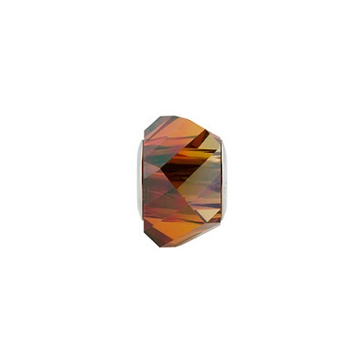 Swarovski 5928 BeCharmed Helix, Crystal Red Magma, 4.5mm Hole
