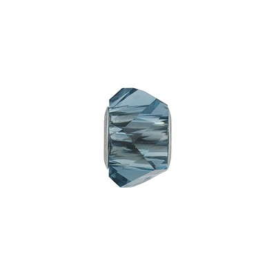 Swarovski 5928 BeCharmed Helix, Denim Blue, 4.5mm Hole