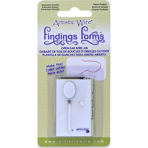 Beadalon French Open Earwire Form Easy Tool for Earwires